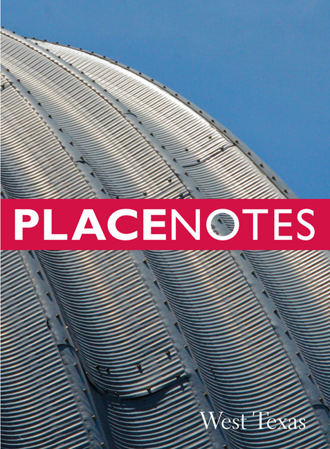 Cover of Placenotes—West Texas