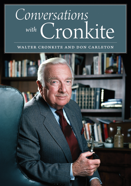 Cover of Conversations with Cronkite