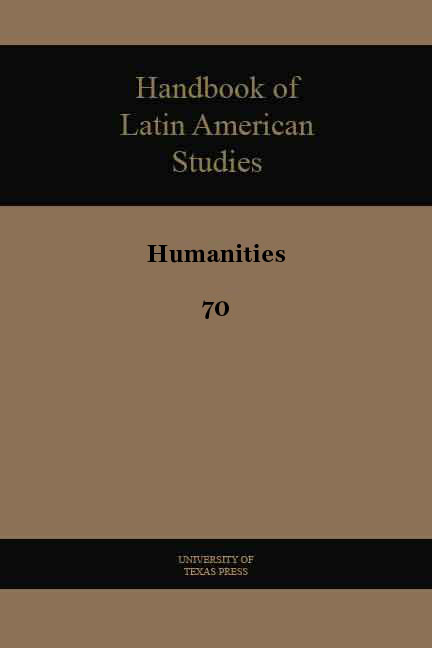 Cover of Handbook of Latin American Studies, No. 70