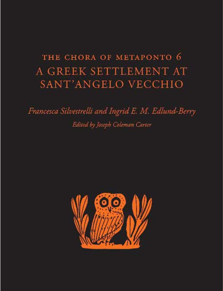Cover of The Chora of Metaponto 6