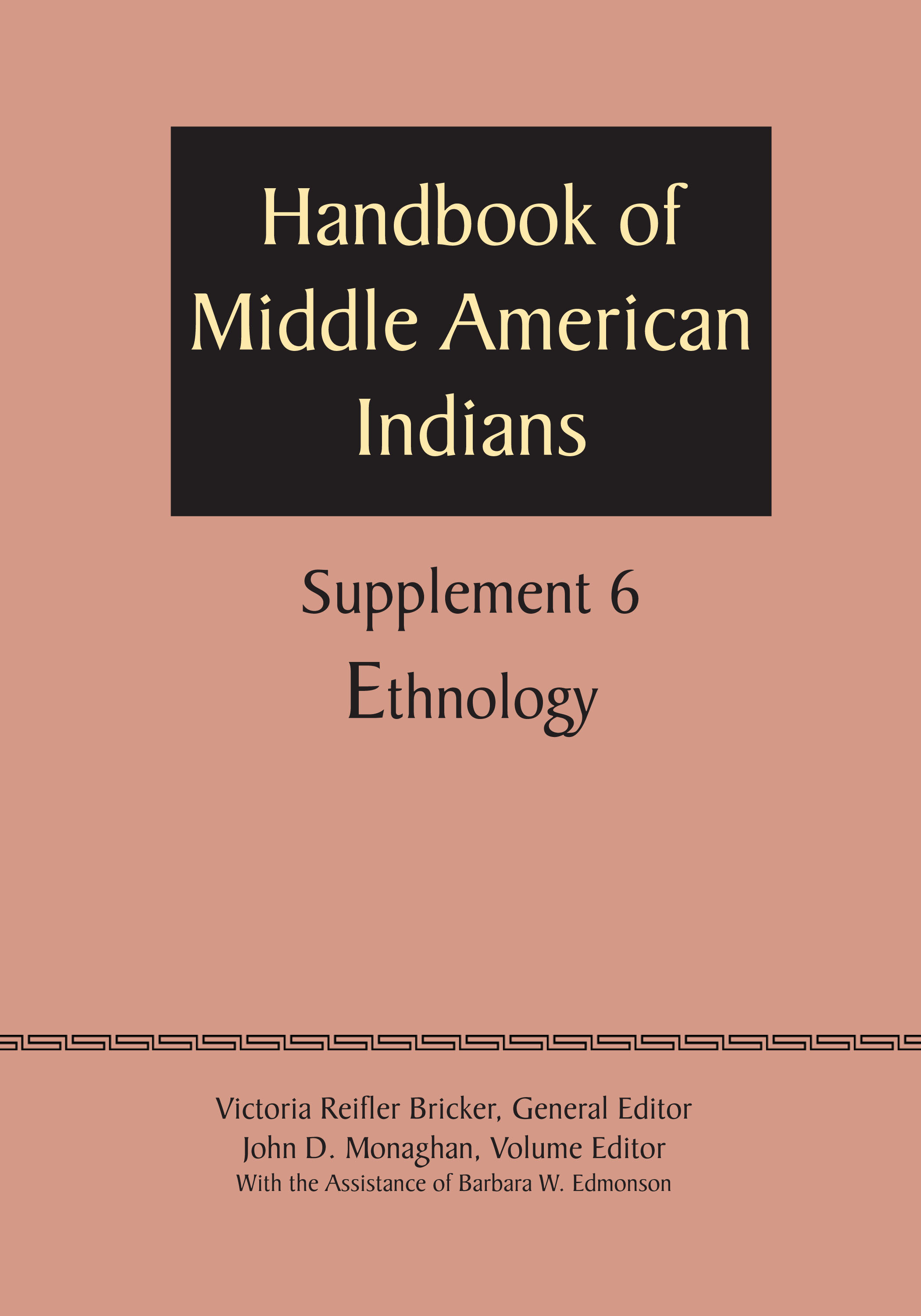 Supplement to the handbook of middle american indians volume 6 cover of supplement to the handbook of middle american indians volume 6 buycottarizona