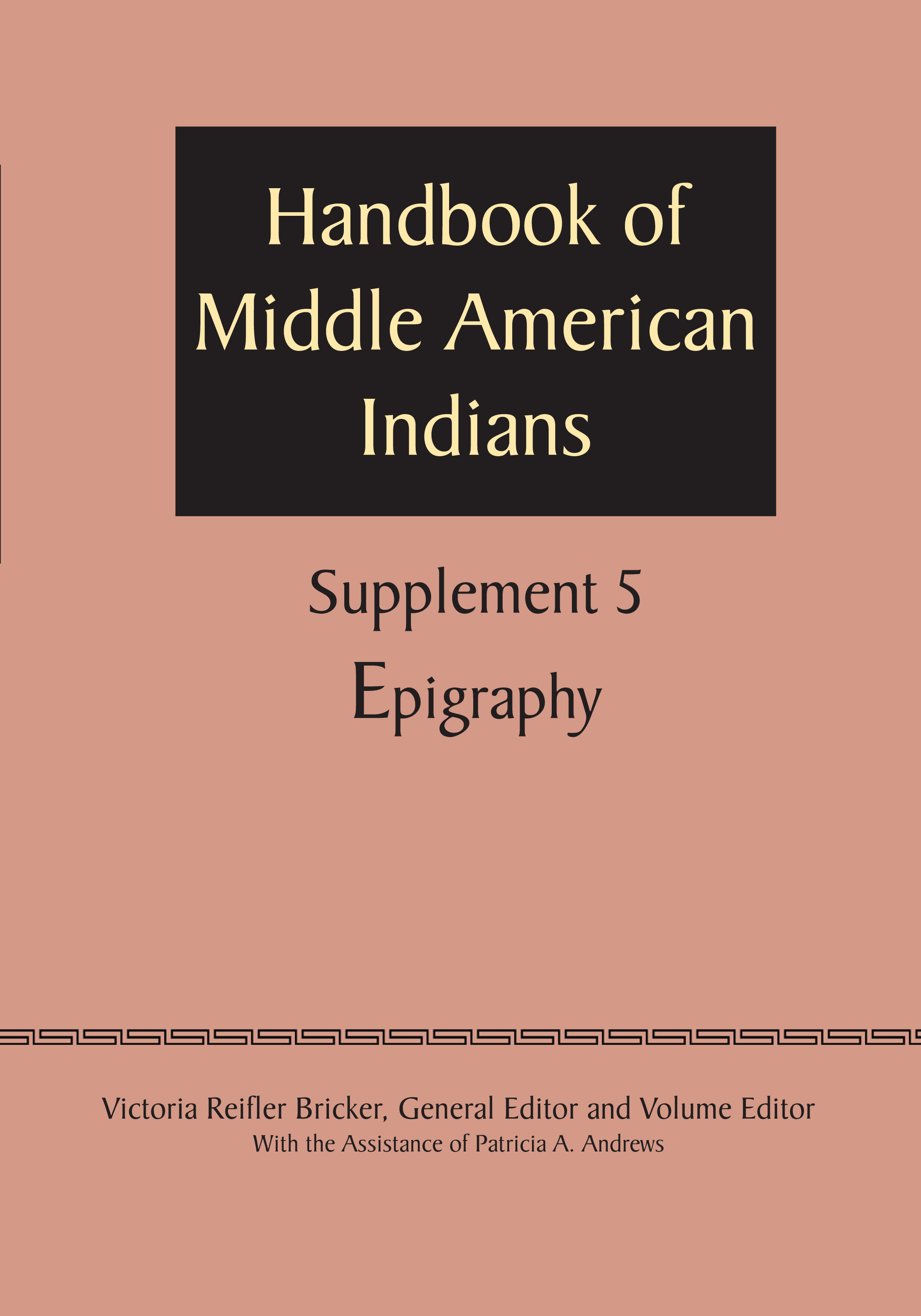 supplement to the handbook of middle american indians vol 5