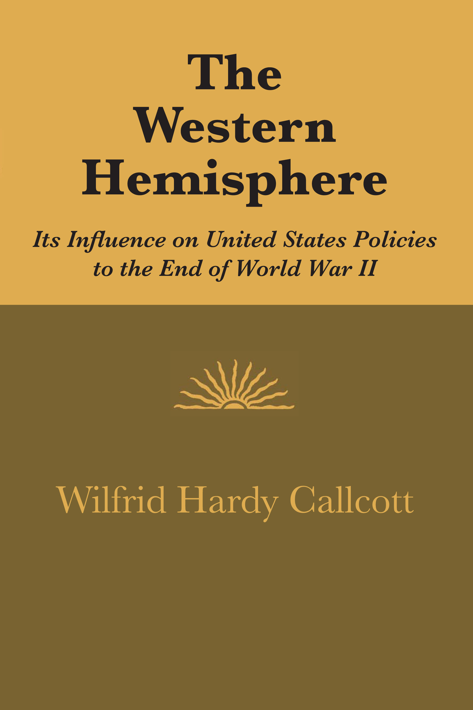 Cover of The Western Hemisphere
