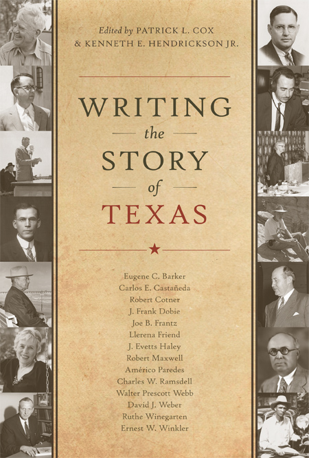 Cover of Writing the Story of Texas