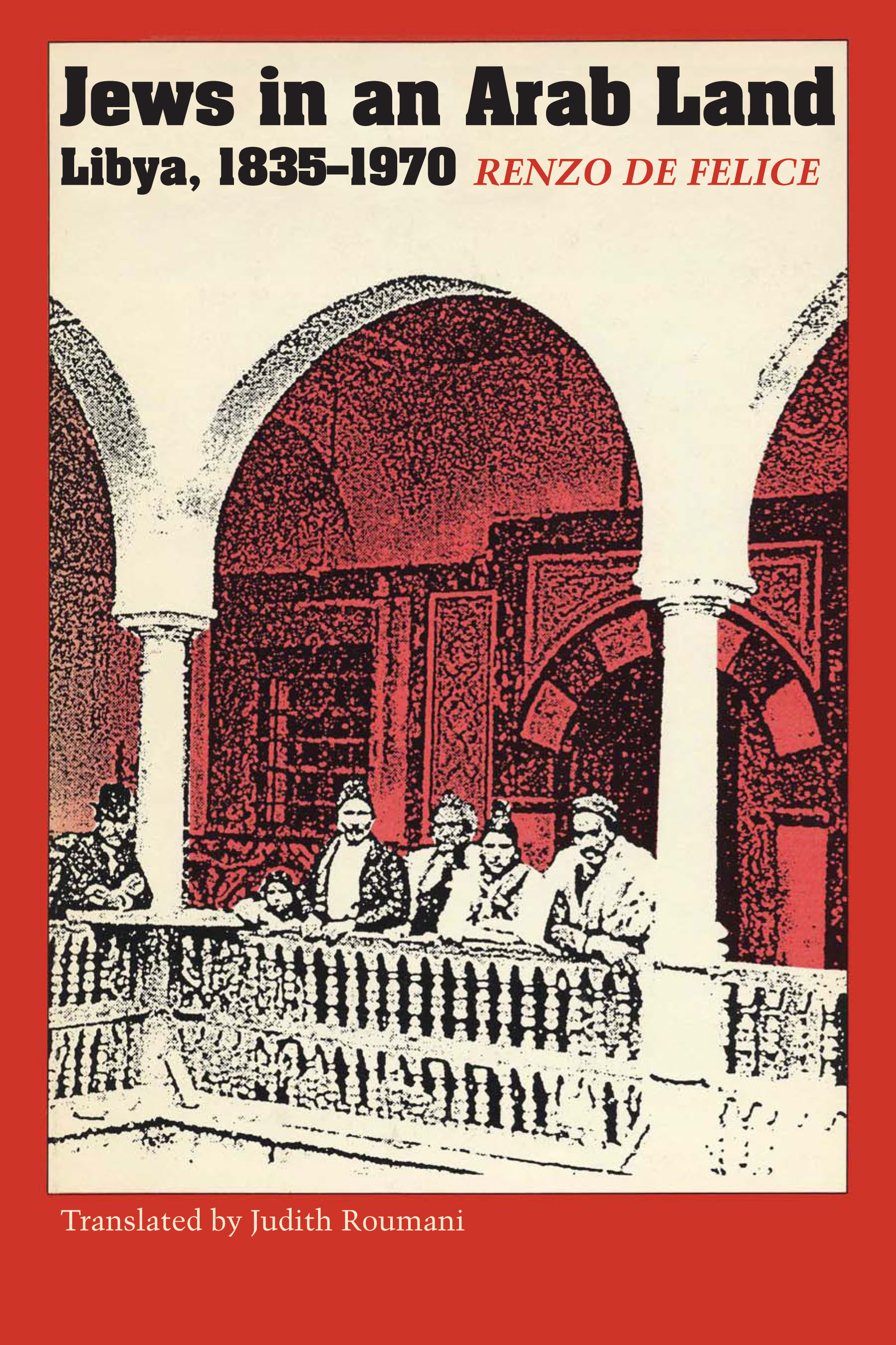 Cover of Jews in an Arab Land