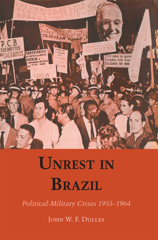 Cover of Unrest in Brazil