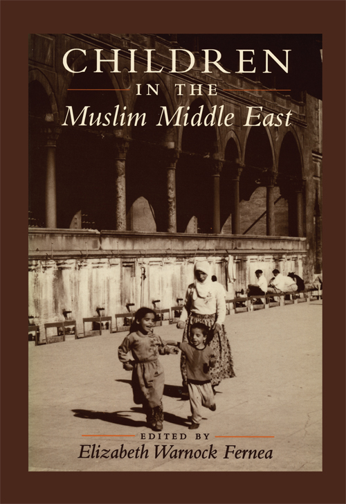 Cover of Children in the Muslim Middle East