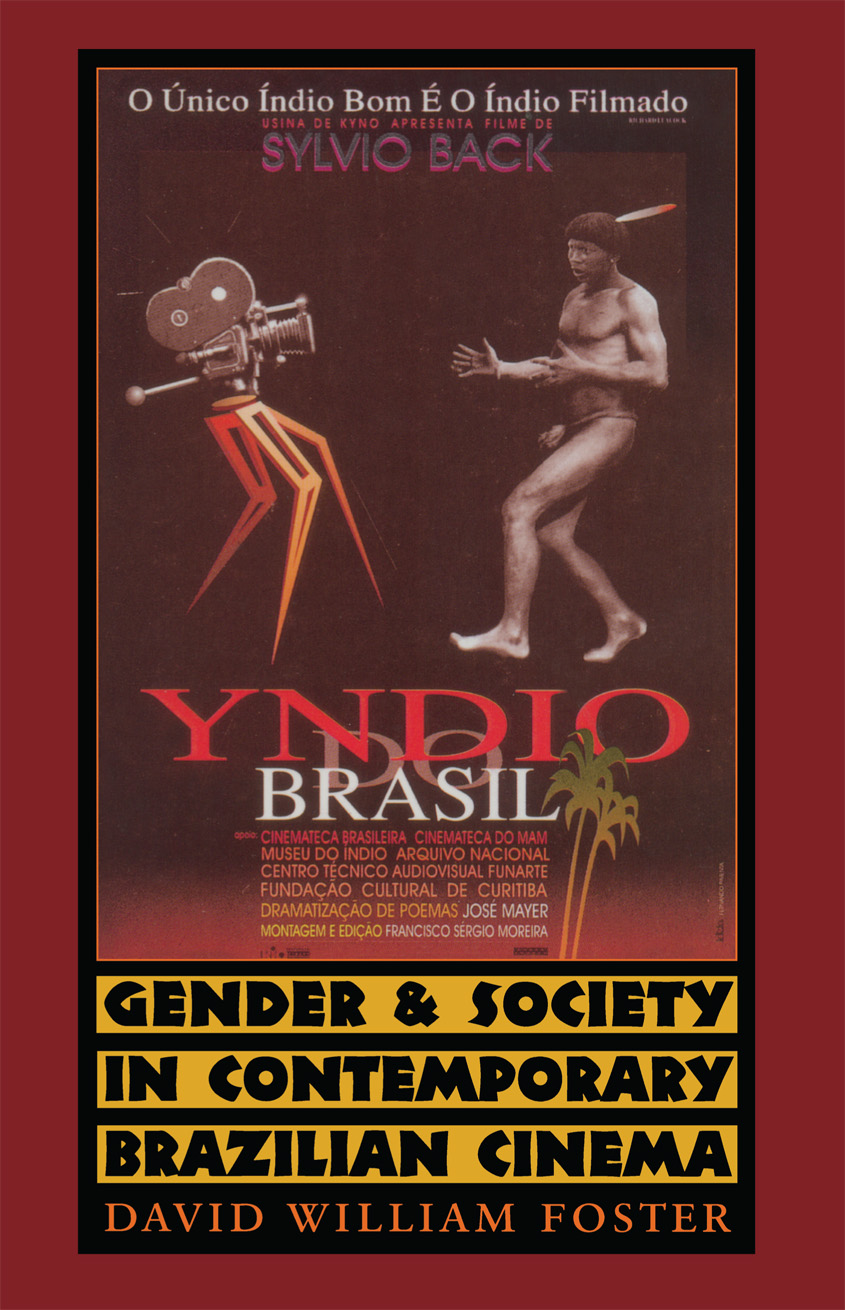 Cover of Gender and Society in Contemporary Brazilian Cinema