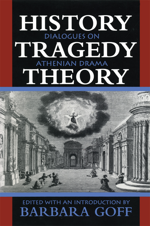 Cover of History, Tragedy, Theory