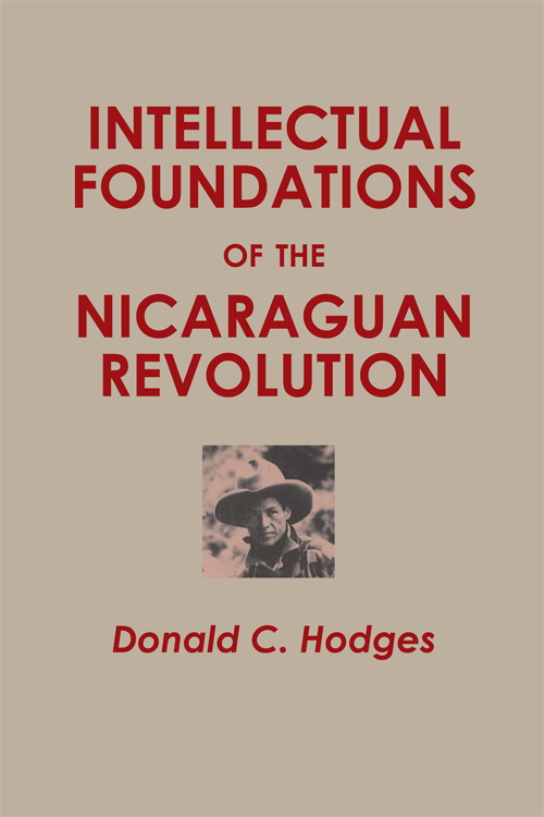 Cover of Intellectual Foundations of the Nicaraguan Revolution