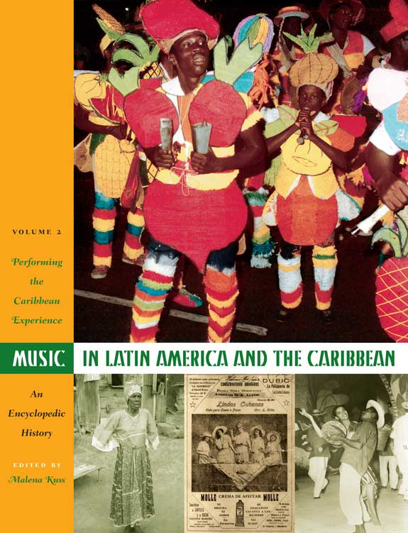 Cover of Music in Latin America and the Caribbean: An Encyclopedic History