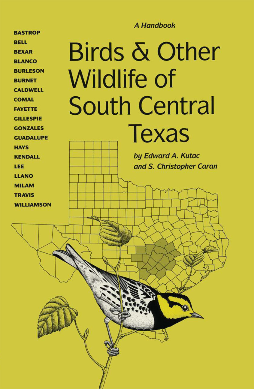 Cover of Birds and Other Wildlife of South Central Texas