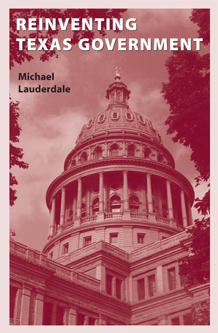 Cover of Reinventing Texas Government