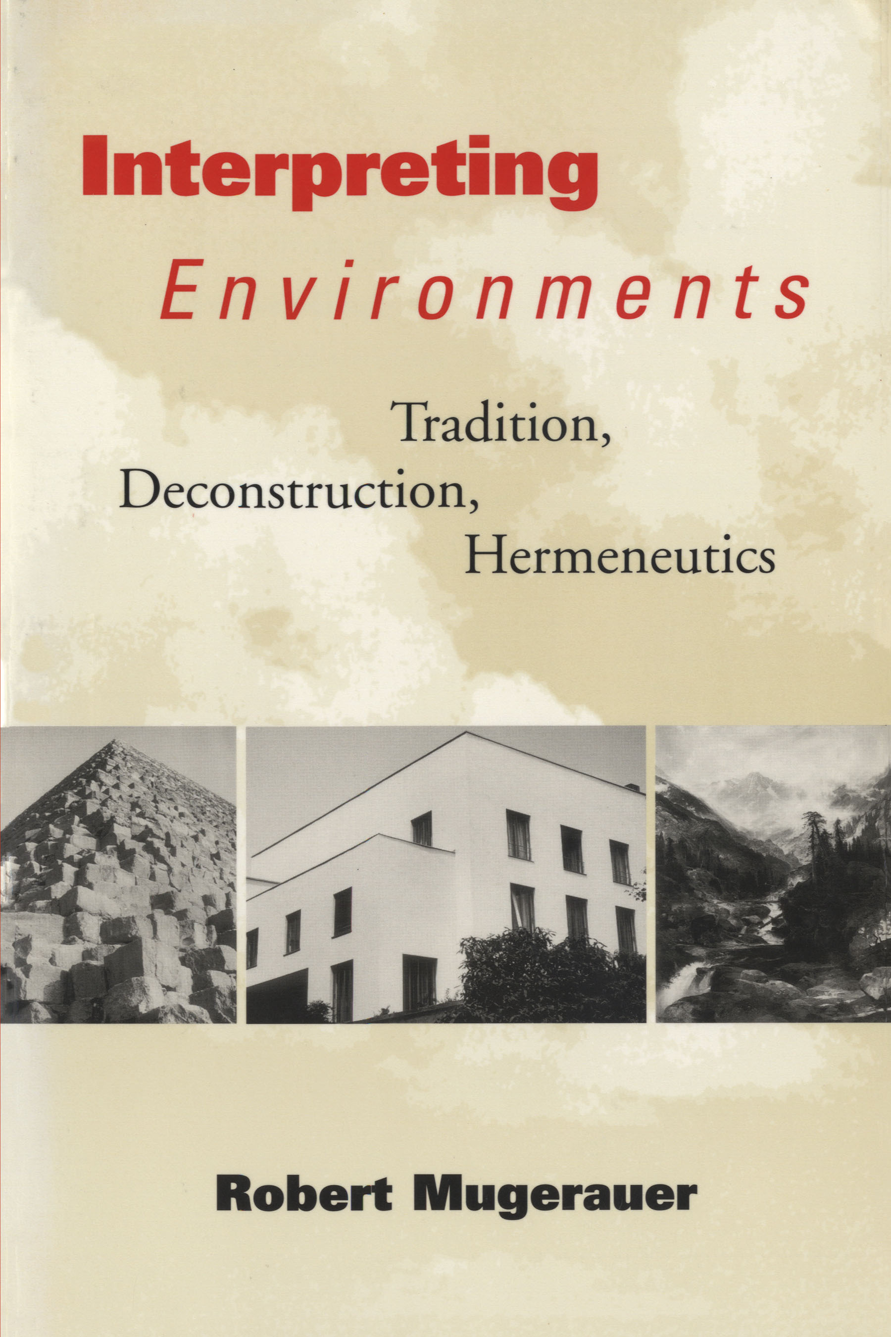 Cover of Interpreting Environments