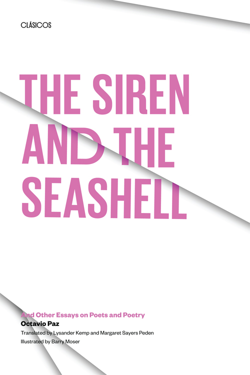 the siren and the seashell and other essays on poets and poetry by cover of the siren and the seashell
