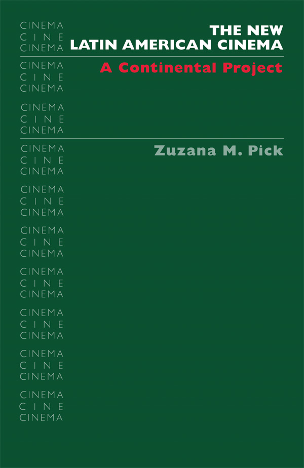 Cover of The New Latin American Cinema
