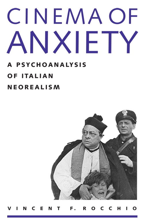 Cover of Cinema of Anxiety