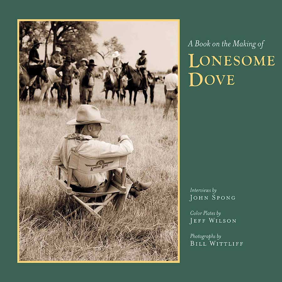 Cover of A Book on the Making of Lonesome Dove