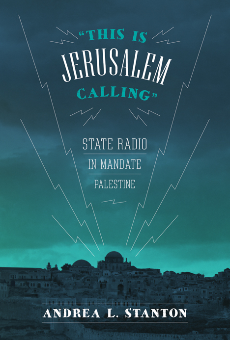 "Cover of ""This Is Jerusalem Calling"""