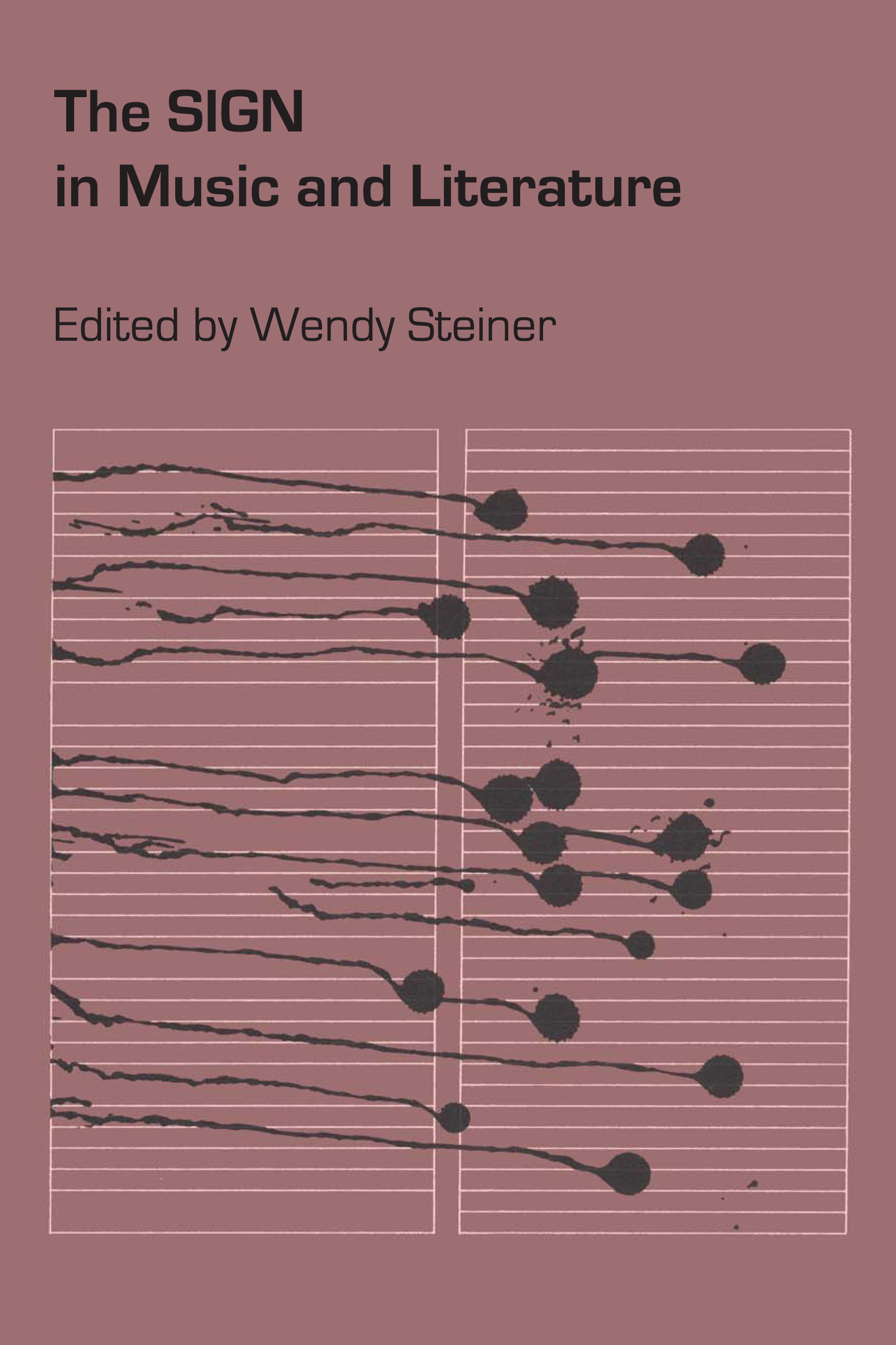 Cover of The Sign in Music and Literature