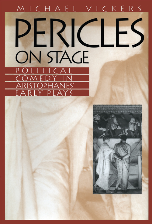 Cover of Pericles on Stage