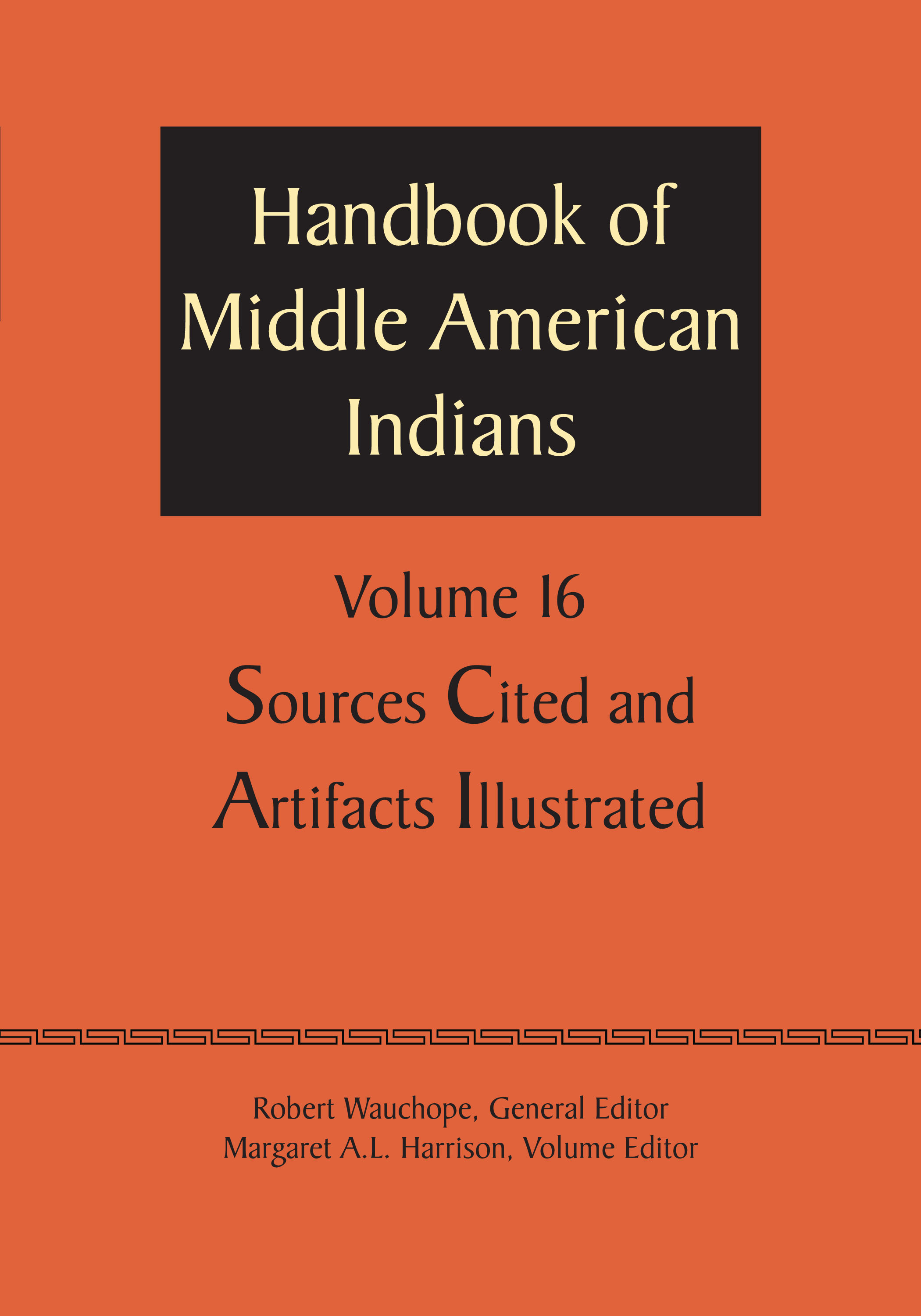 Cover of Handbook of Middle American Indians, Volume 16