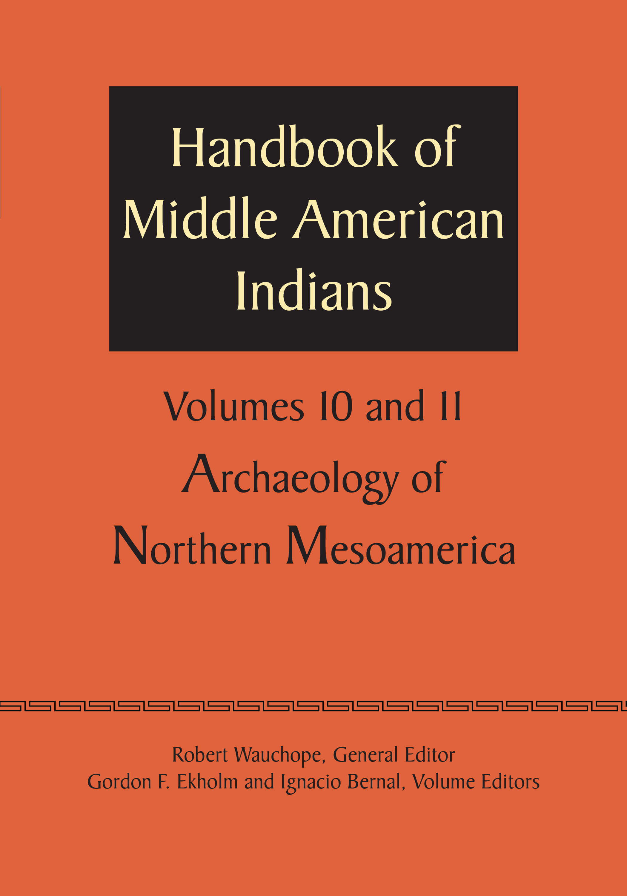 Cover of Handbook of Middle American Indians, Volume 10/11