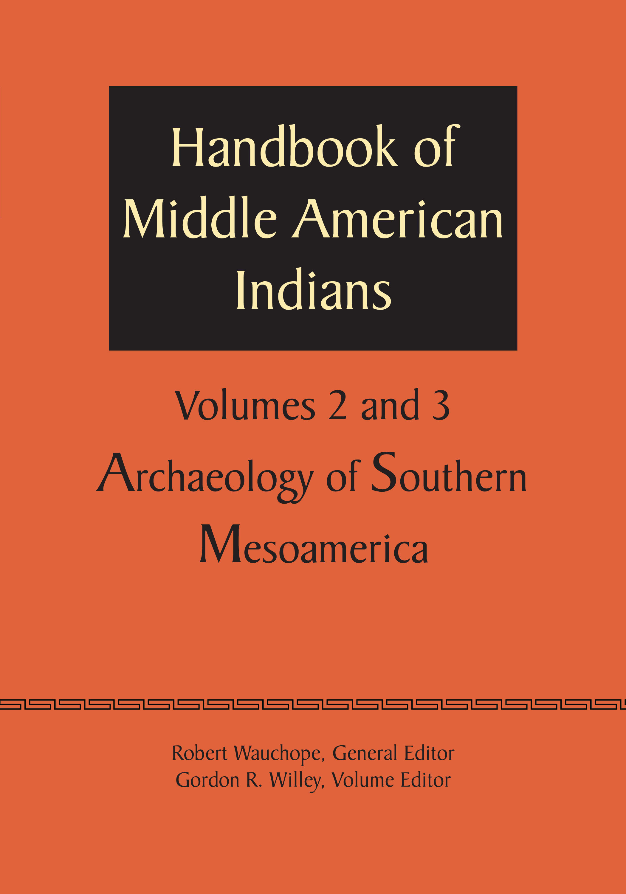 Cover of Handbook of Middle American Indians, Volume 2/3