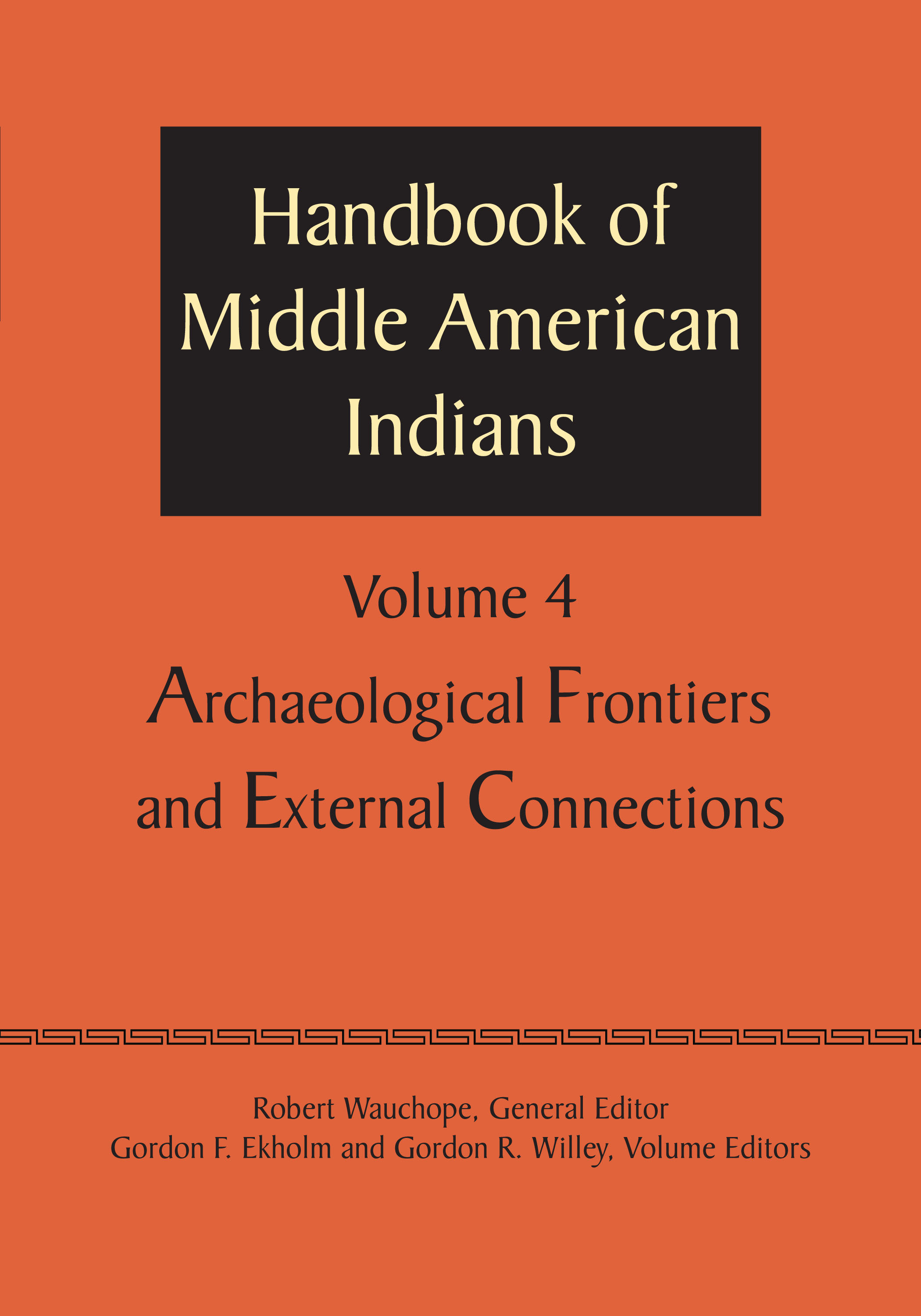 Cover of Handbook of Middle American Indians, Volume 4