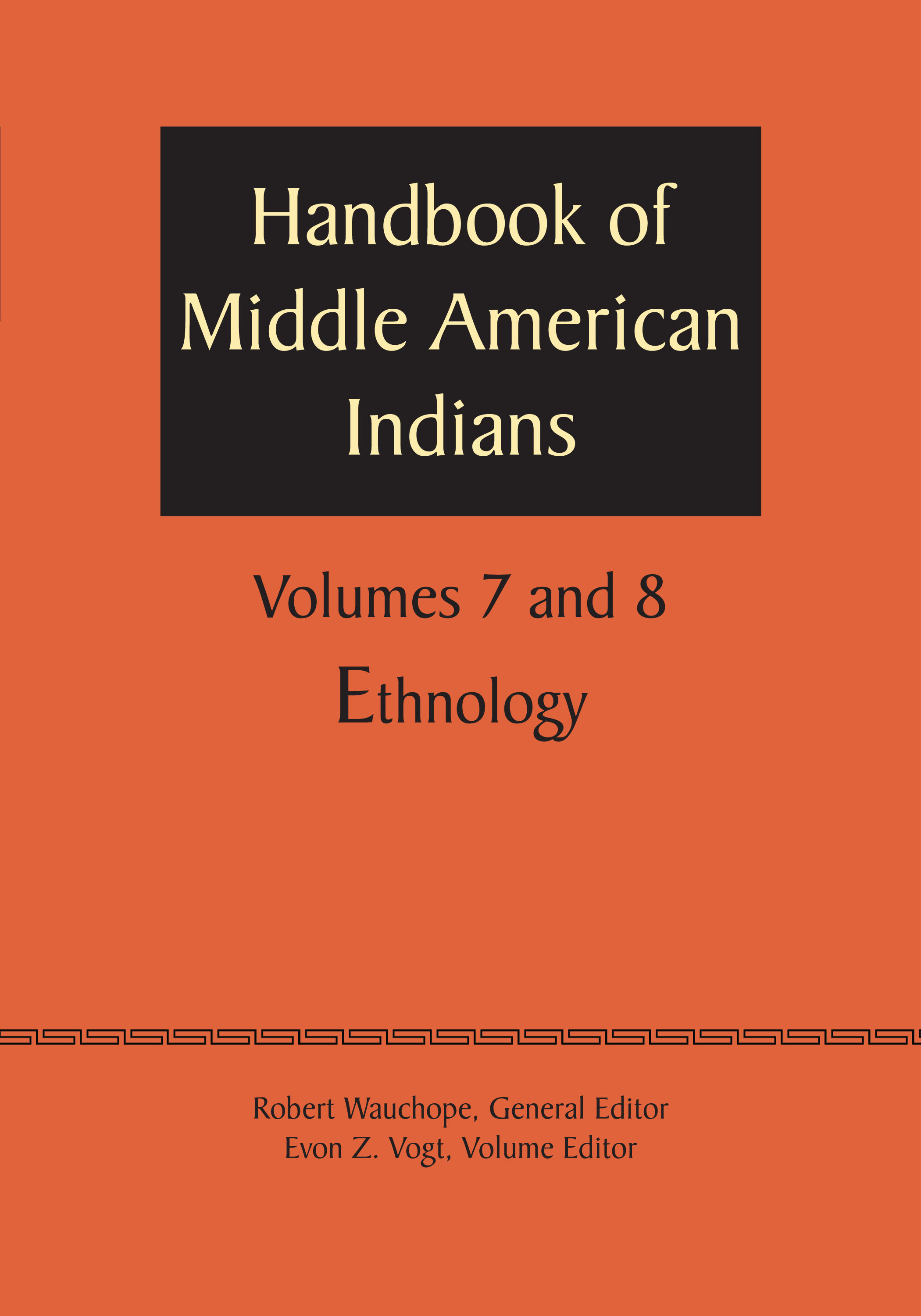 Cover of Handbook of Middle American Indians, Volume 7/8