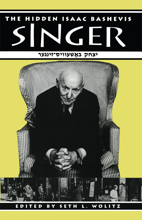 Cover of The Hidden Isaac Bashevis Singer