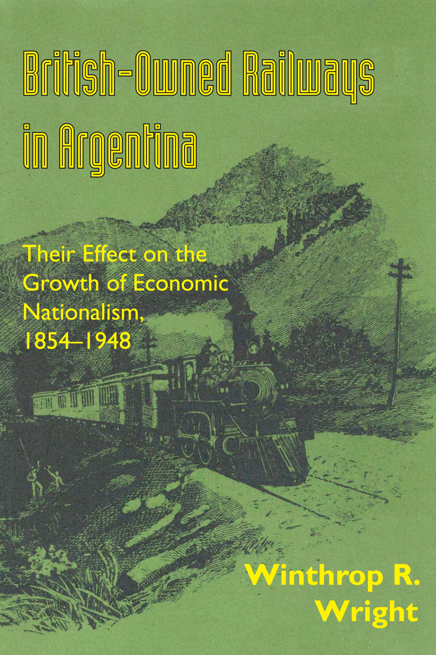 Cover of British-Owned Railways in Argentina