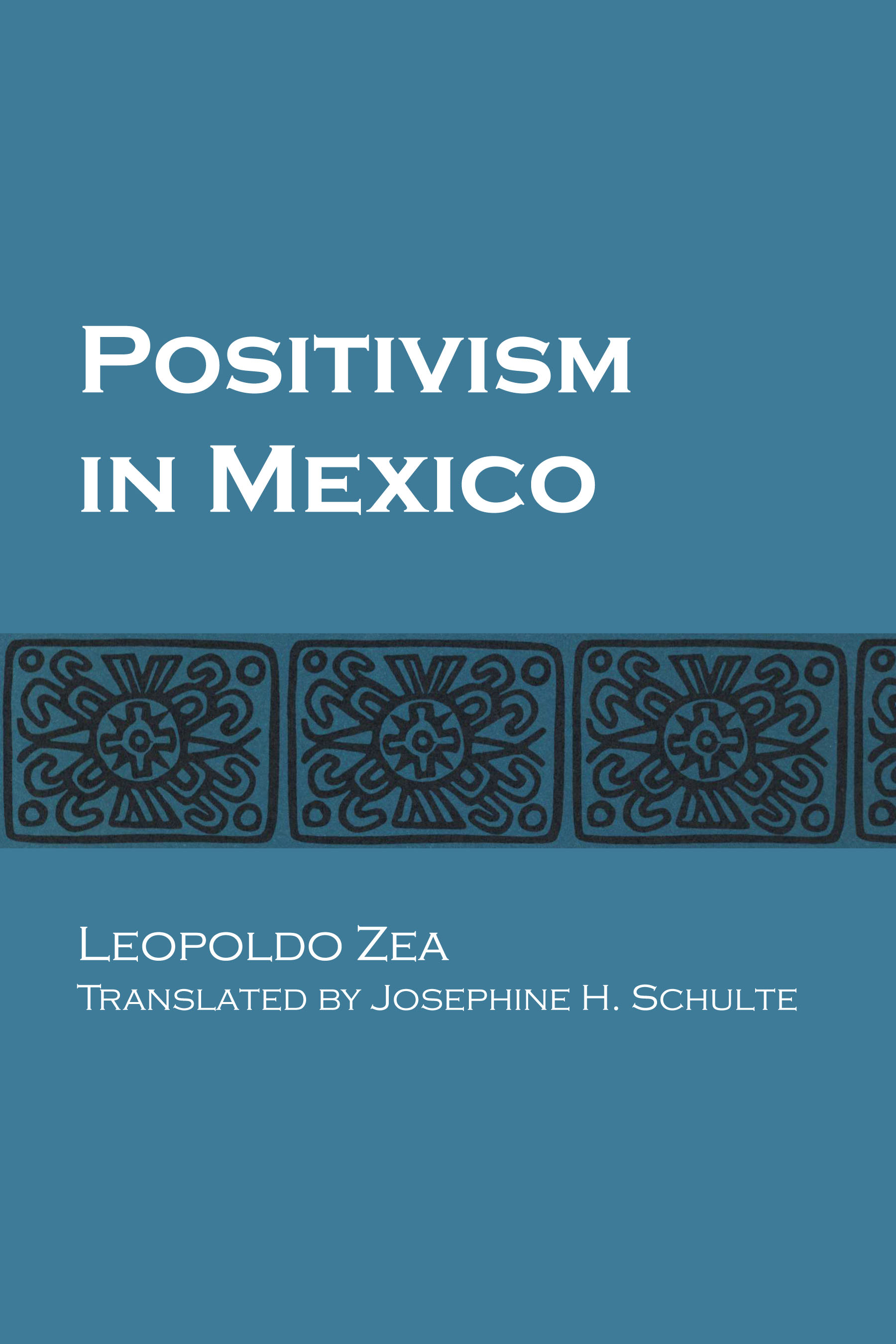 Cover of Positivism in Mexico