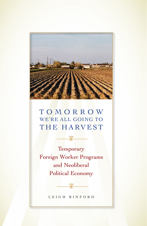 Cover of Tomorrow We're All Going to the Harvest