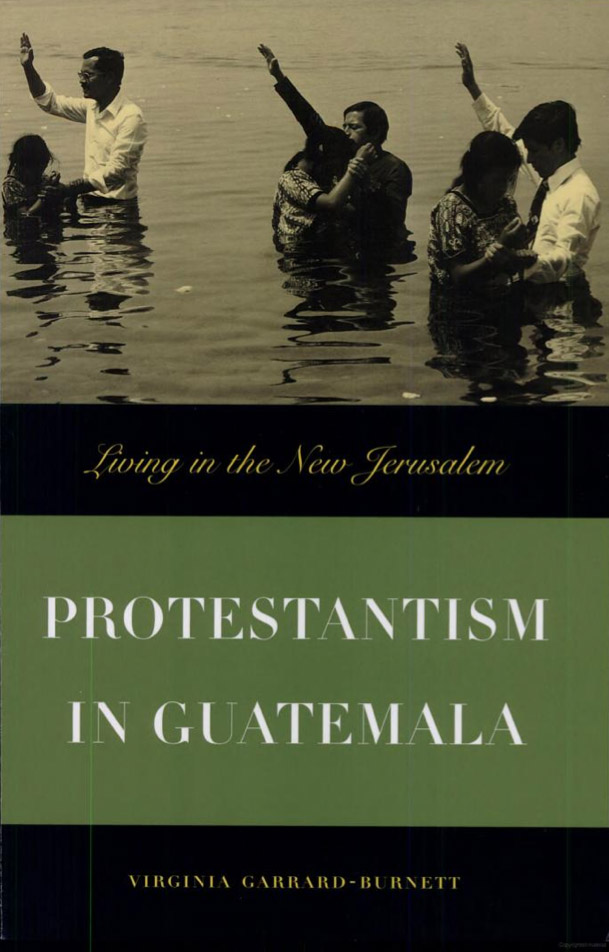 Cover of Protestantism in Guatemala