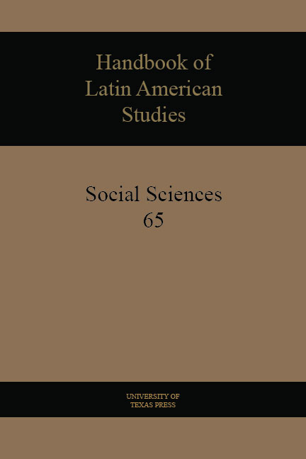 Cover of Handbook of Latin American Studies, Volume 65