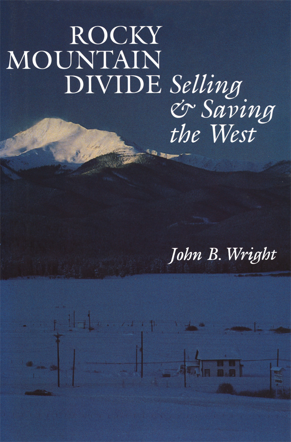 Cover of Rocky Mountain Divide