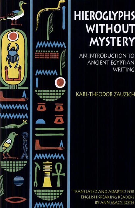 Cover of Hieroglyphs without Mystery