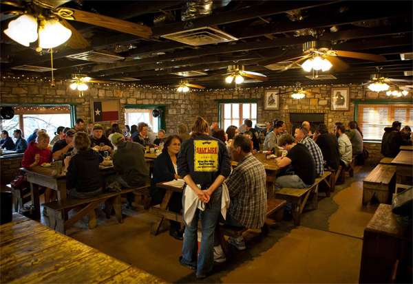 The salt lick restaurant