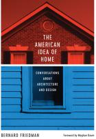 Cover of The American Idea of Home