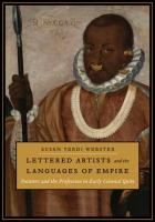 Cover of Lettered Artists and the Languages of Empire
