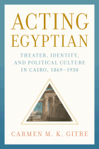 Cover of Acting Egyptian