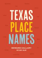 Revised cover of Texas Place Names
