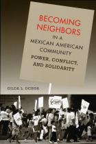 Cover of Becoming Neighbors in a Mexican American Community