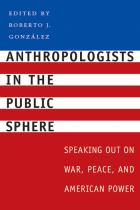 Cover of Anthropologists in the Public Sphere