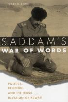 Cover of Saddam's War of Words