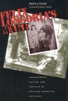 Cover of Felix Longoria's Wake