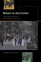 Cover of Return to the Center