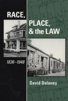 Cover of Race, Place, and the Law, 1836-1948