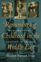 Cover of Remembering Childhood in the Middle East